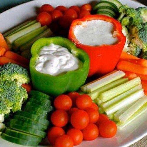 Идеи оформления нарезки из овощей