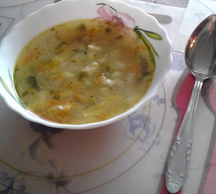 Вкуснейший низкокалорийный суп с клецками
